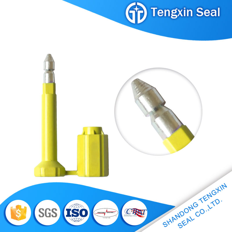 2017 Tengxin China recycle seal snap cargo security bolt seal