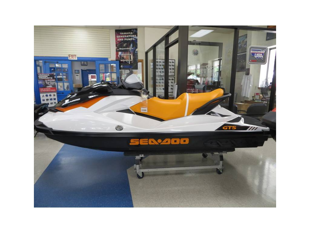 2017 Sea-Doo GTS Three Seater Jet Ski