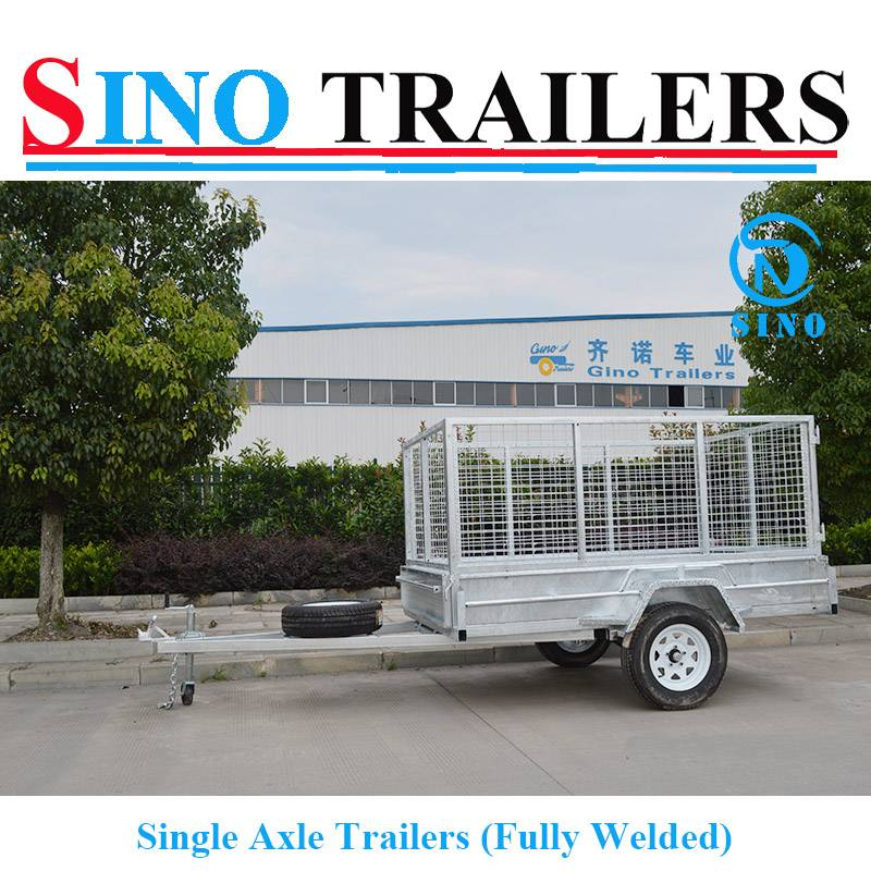 Single Trailers Fully Welded