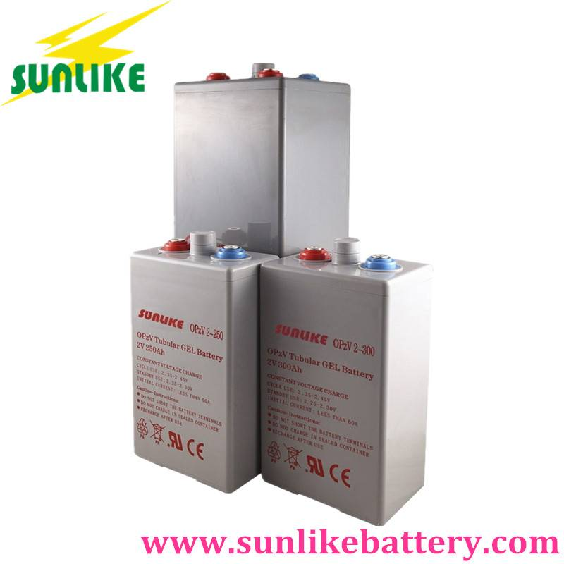 Maintenance Free 2V2000ah Opzv Gel Battery for Energy Storage