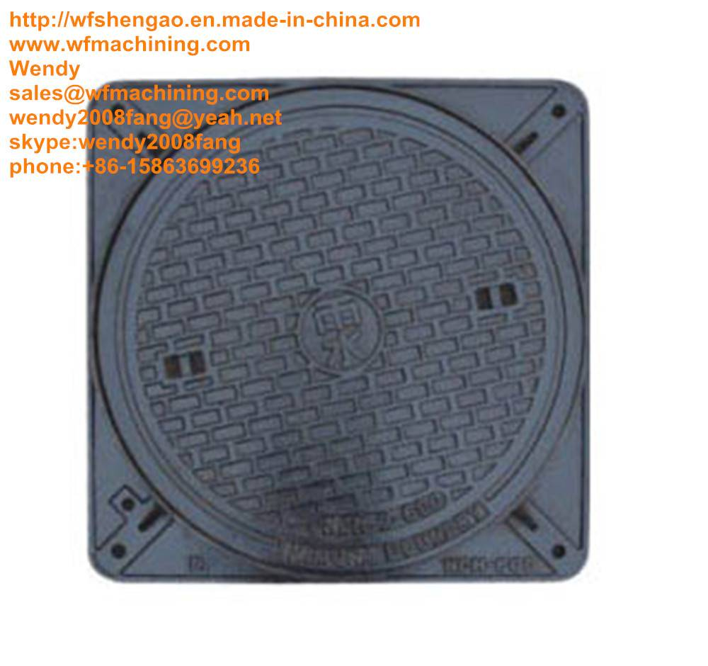 OEM Drain Manhole Covers with Customised Service
