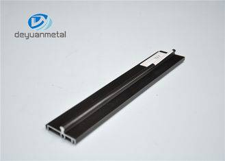 Customized Aluminium Extrusion Profile , Custom Aluminum Extrusions For Windows , 6063-T5