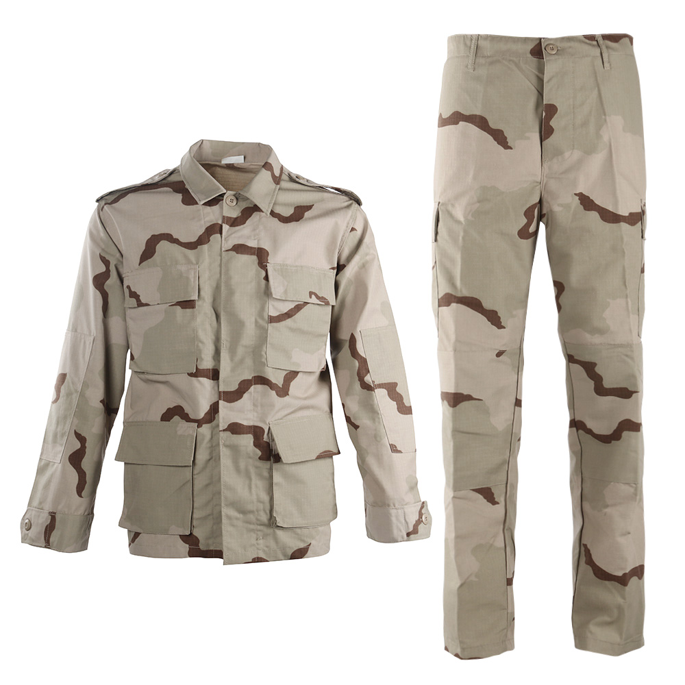Hot Products Tri-Color Desert / 3 Color Desert Factory Supply Military Uniform