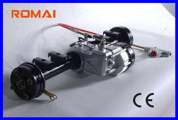 DC Brushless Rear Axle Motor with Shift Function