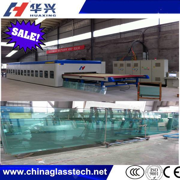 Easy Operating Flat Glass Tempering Machine