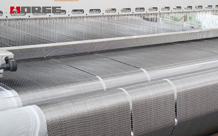Unidirectional carbon fiber fabric for structural strengthening