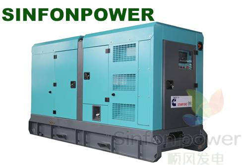 CUMMINS generating set SC80S-Silent Canopy  /Diesel generator
