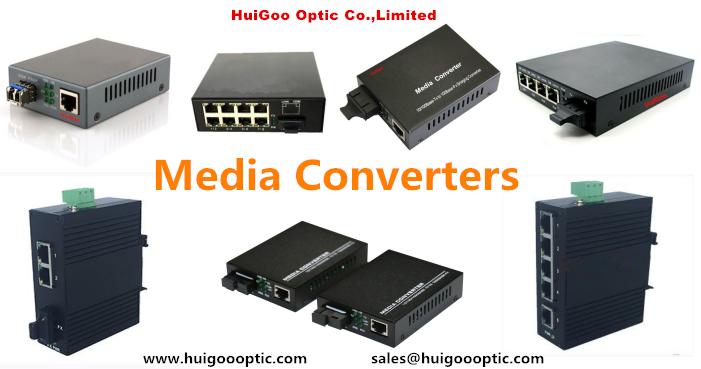 Dual fiber multimode 550m SFP media converter RJ45 10/100/1000M