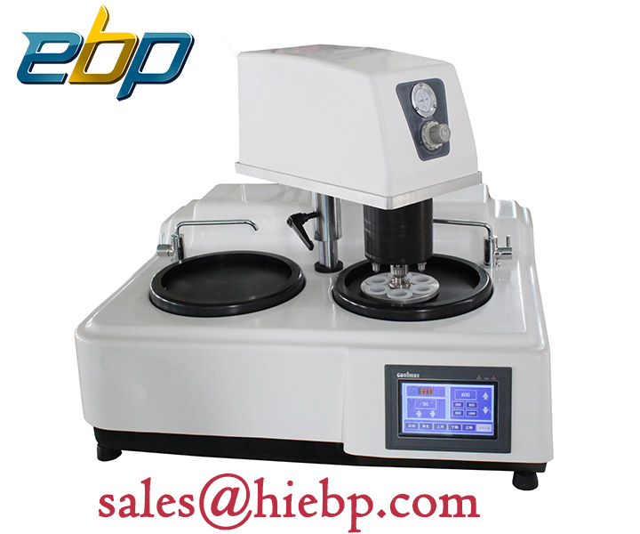 EBP Automatic double disc metallographic sample grinding and polishing machine
