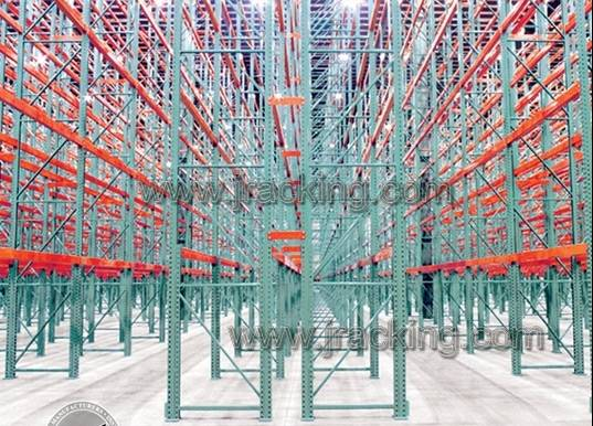 Jracking warehouse storage solution very narrow aisle(VNA) storage
