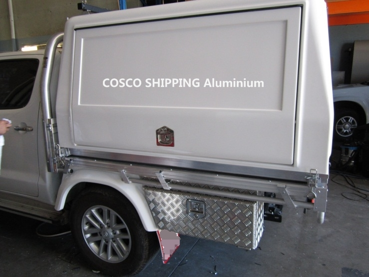 aluminum flat bed for work truck