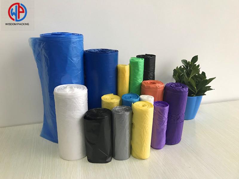 Wholesale PE Plastic Garbage Bags