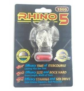 RHINO5 Sexual Enhancer capsule RHINO5 pills