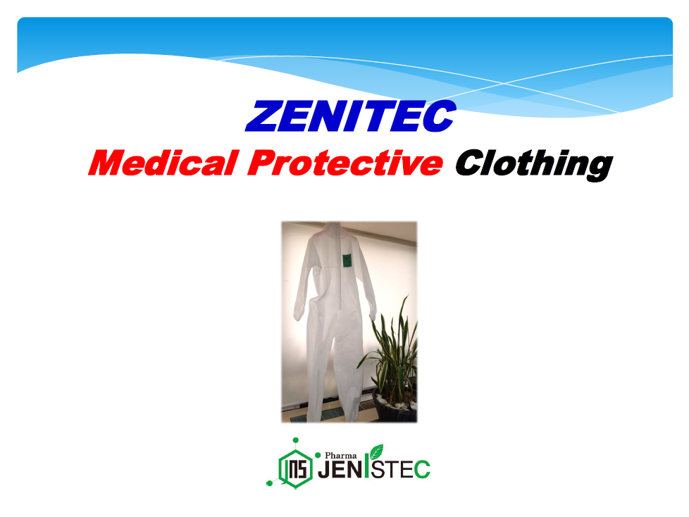 ZENITEC Medical Protective Clothing(FDA Registration)