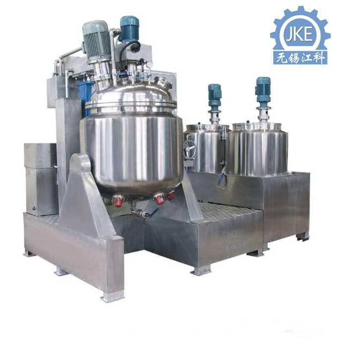 Pharmaceutical Ointment Emulsifier Vacuum Emulsifying Mixer