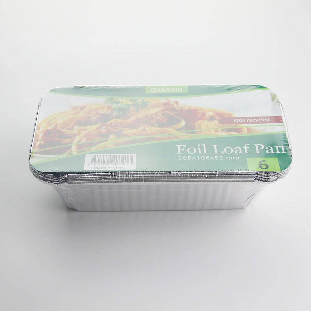 China Supplier Aluminum Foil Container Paper Lid