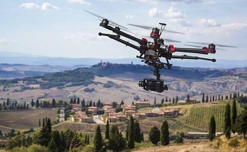 PC850 Multi - Purpose UAV (6 axles) CH Drones