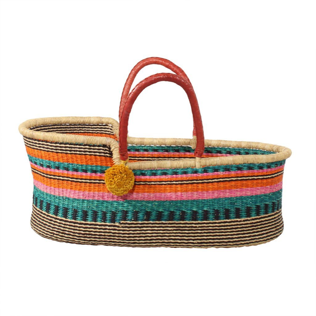 Seagrass baby baskets