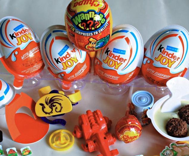 Kinder Joy, Kinder Bueno, Kinder Chocolates