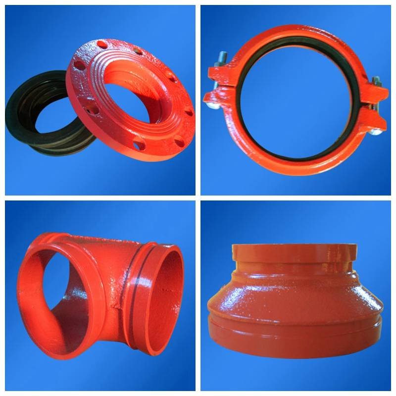 Fire Fighting Ductile Iron Pipe Fittings