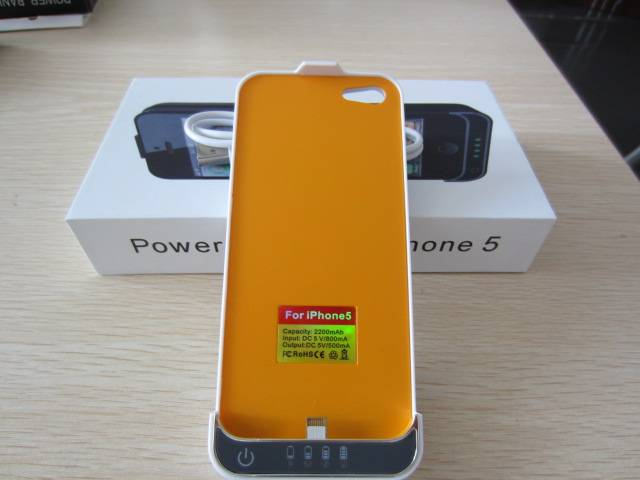 emergency 2000mAh mobile power bank mobile power charger for iphone