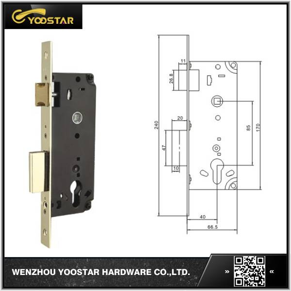 Wenzhou cheap 85x40mm lock body