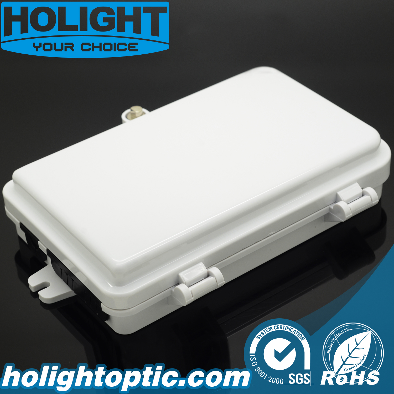 Fiber Optic Wall Mounted 6 Core FTTH Indoor and Outdoor Terminal Box