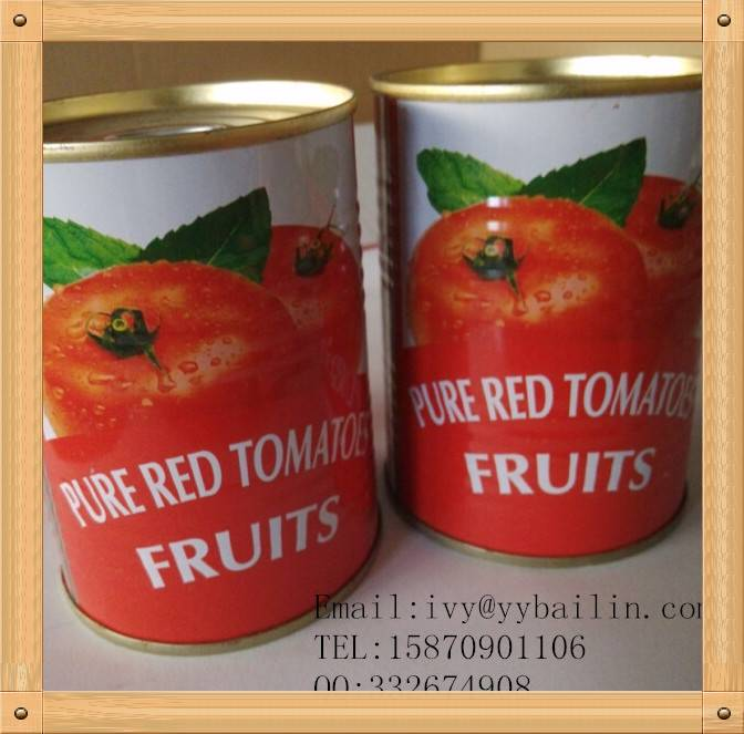 Factory Supply Canned Tomato Paste 70g/100tins easy open