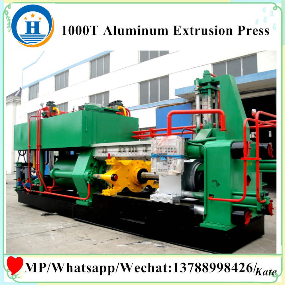 extruder machine aluminum profilesextrusion machine for window frames