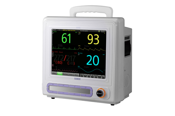 Medical Emergency Equipment, Patient Monitor with touchable MATRON BPM1010