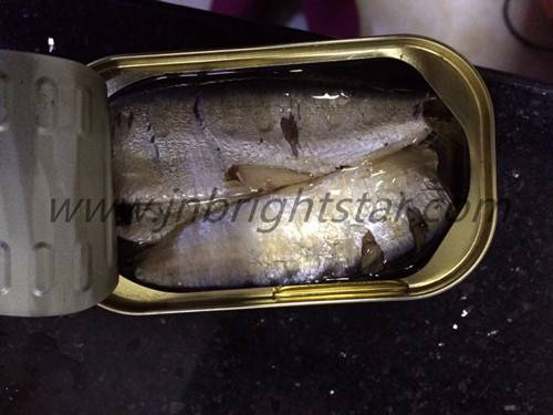 canned pilchard in vegetable oil