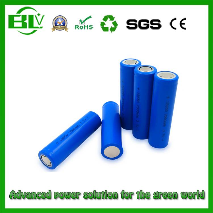 Manufacturer Price of 18650 2200mAh Lithium Battery to Power Supply
