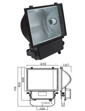 400W Floodlight fixtures NF110