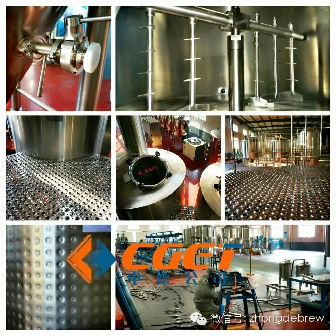 CGET Beer brewery equipment micro brewery per batch