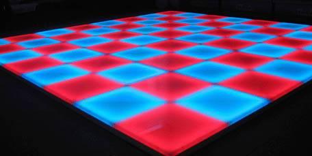 Illuminated/LED dance floor