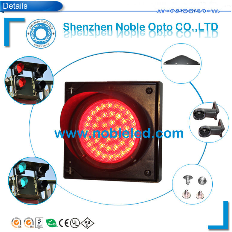 4 Inch Mini Traffic Light with Red Color