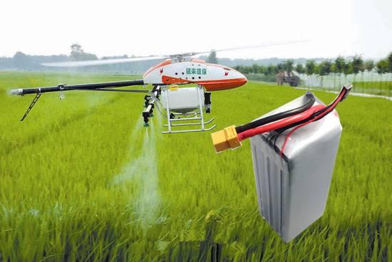16000mah 22.2v High Capacity Lipo Battery for UAV drone
