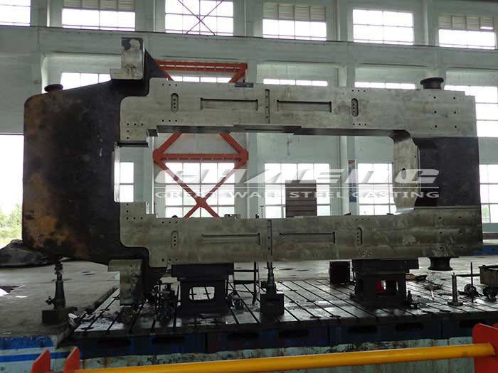 Steel rolling mill stand housing manufacturer