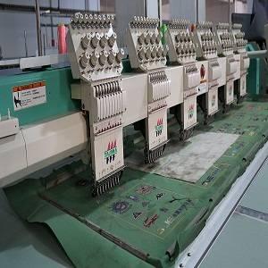 used embroidery machine tajima