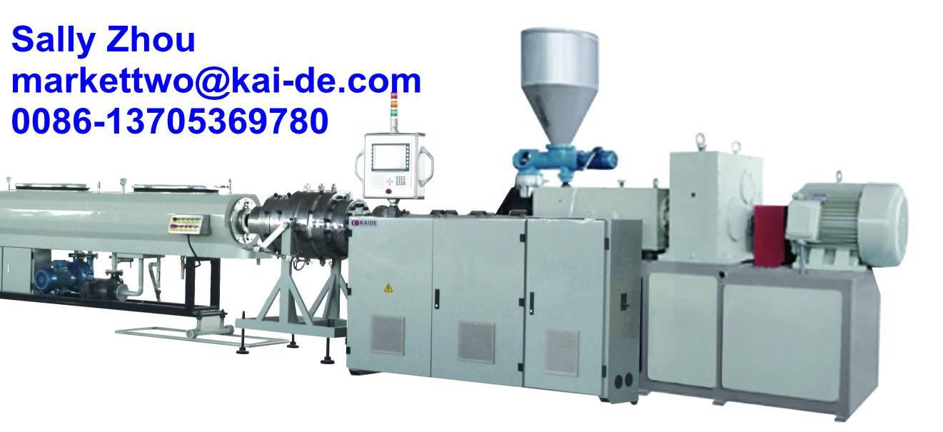 Water Drainage UPVC pipe machine
