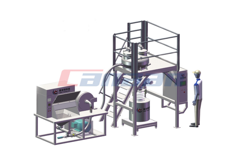 Dust Free Crushing Module