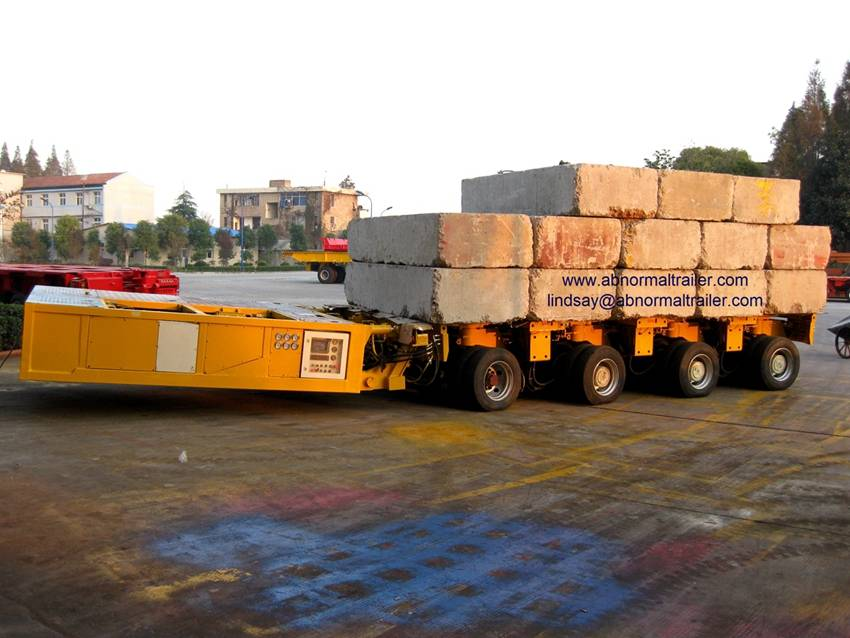 China SPT trailer