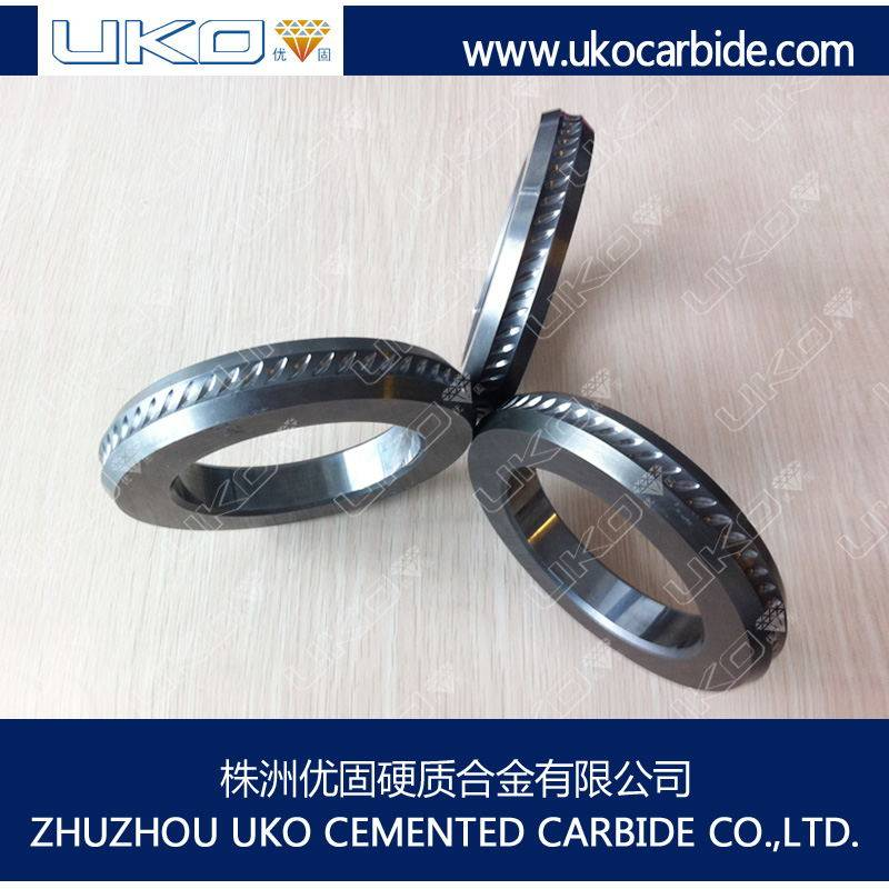 tungsten carbide cold rolls having good wear resistance in steel wire production