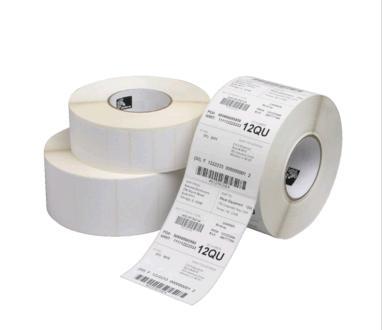 Adhesive label rolls