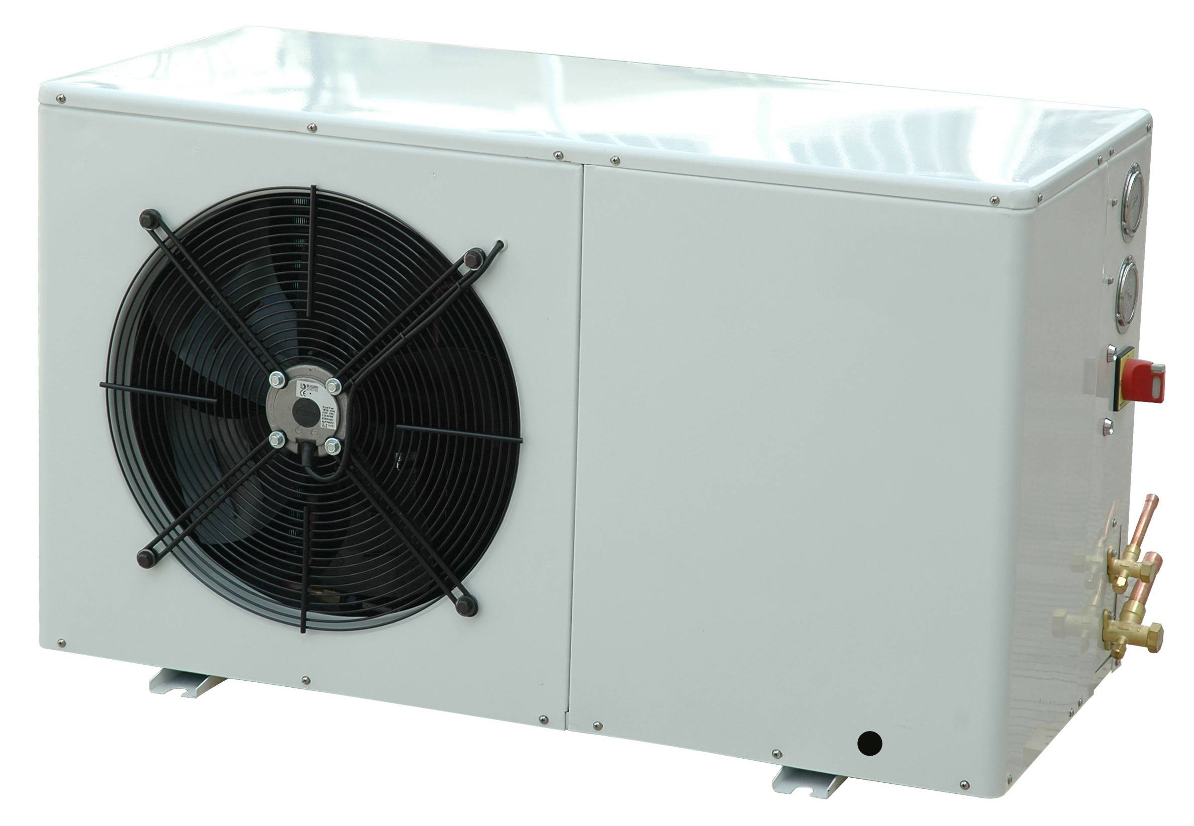 Refrigeration packaged condensing units