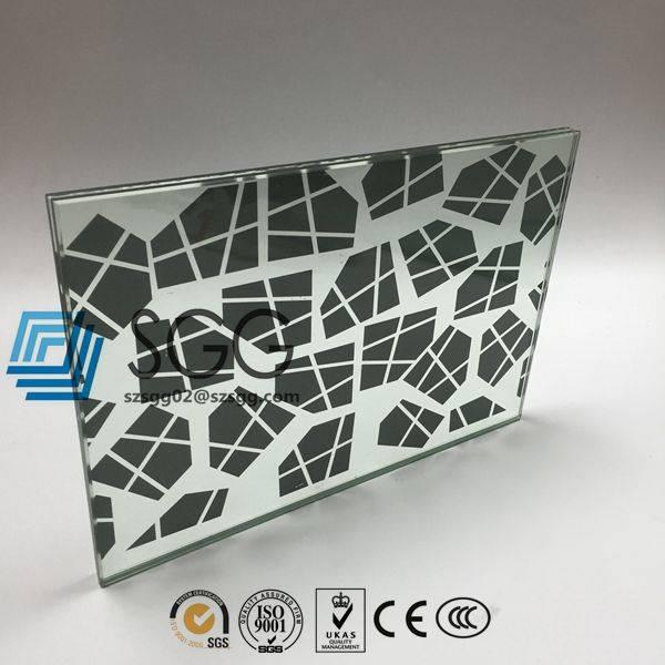 4mm 5mm 6mm 8mm 10mm 12mm 15mm 19mm silk screen printing glass