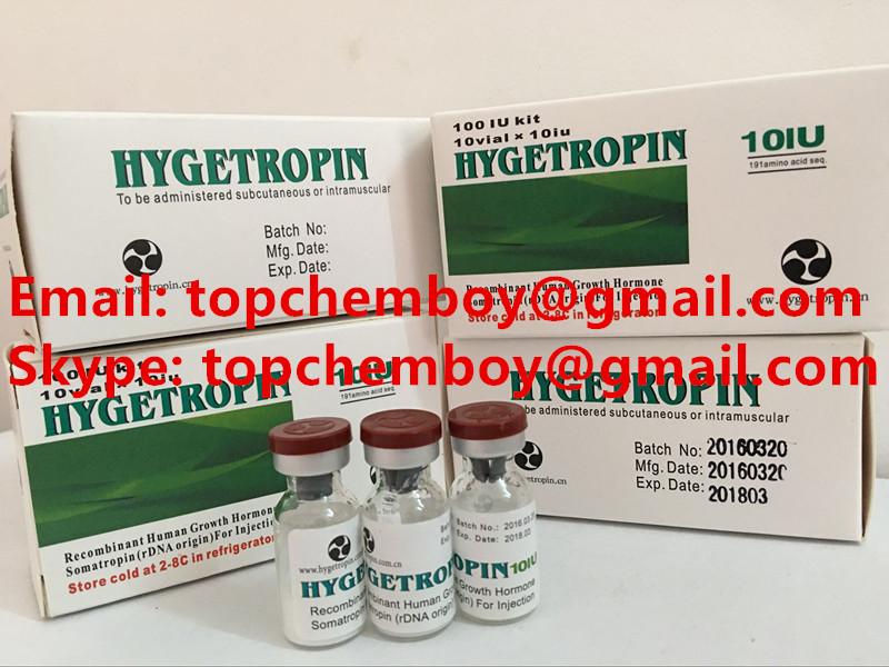 HGH Human Growth Hormone hygetropin (10IU/vial, 10vials/kit ) hygetropin (8IU/vial, 25vials/kit )