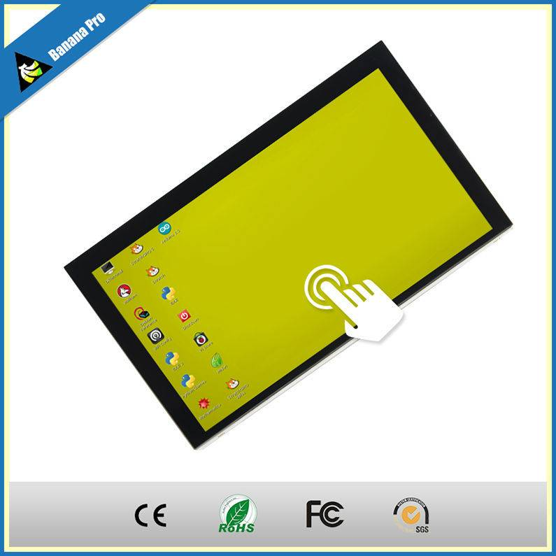 HOT! high quality, 5 inch Banana Pro Touch LCD With HDMI VGA AV Screen Touch Display Module