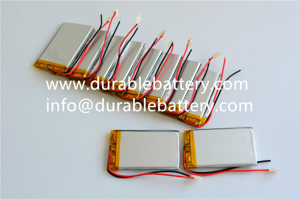 rechargeable lithium 503759 li-polymer battery 3.7v 1200mah lipo battery