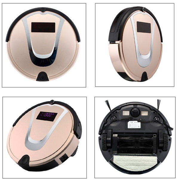 Ideal smart automatic re-charging vacuum clean robot for modern homes